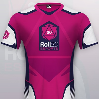 Roll20 esports Jersey